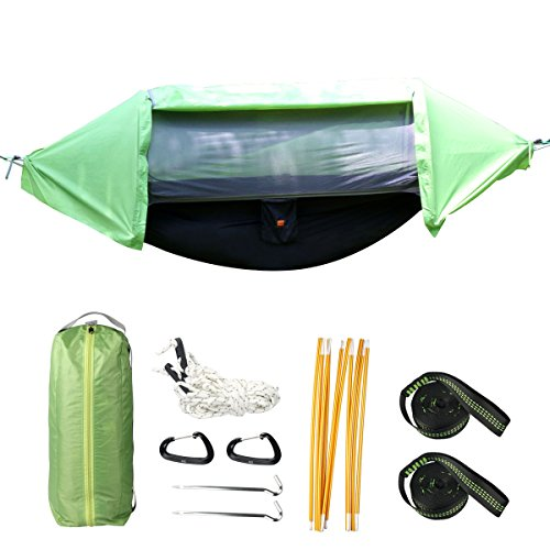 Cheap  3 in 1 Hammock Tent and Camping Hammock Shelter, Mosquito Net Outdoor..
