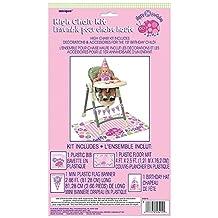 Ladybug 1st Birthday High Chair Decoration Kit, 4pc