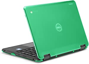 """mCover iPearl Hard Shell Case for 2017 11.6"""" Dell Chromebook 11 3189 Series 2-in-1 Laptop (NOT Compatible with 210-ACDU / 3120/3180 Series) - 3189 Green"""