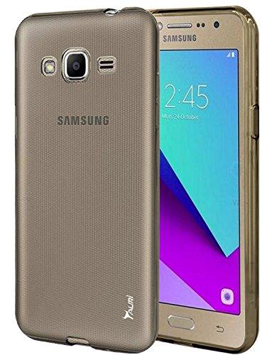 Silicone Soft Case for Samsung Galaxy J2 (Smoke) - 1
