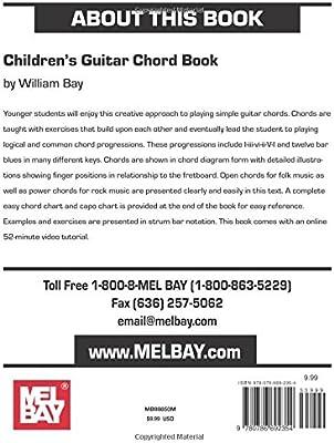 Childrens Guitar Chord Book: Amazon.es: William Bay: Libros en ...