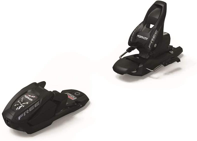 2020 Marker Free 7 Junior B85 Black Ski Bindings