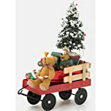 Byers' Choice Red Wagon with Toys #676