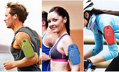 Mxixi Sport Workout laufen Armbinde Fall Multifunktions-Jiking Wandern Joggen multifunktionalen Outdoor-Arm Telefonhalter Tasche Brieftasche elastischen Arm Gurt für alle Handy und Schlüssel (Stil 7) Stil 8