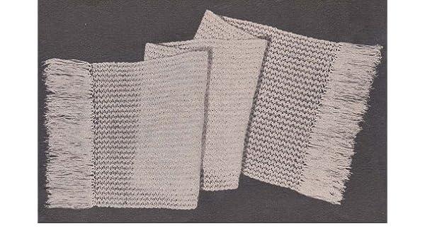 Fine Wool Stole Shawl Wrap Crochet Pattern