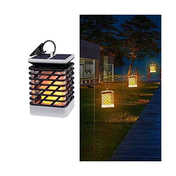 51JFwgVuwhL. SS600  - Solar Lights Outdoor Espier LED Flickering Flame Torch Lights Solar Powered Lantern Hanging Decorative Atmosphere Lamp for Pathway Garden Deck Christmas Holiday Party Waterproof Auto On/Off