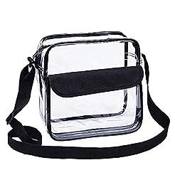 Magicbags Clear Cross-Body Messenger Sho...