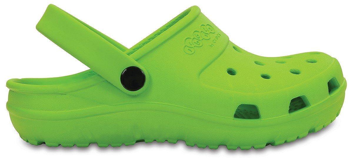 Crocs Girls Presley Beach Shoes C10 Green