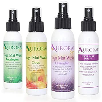Amazon.com: Aurorae - Limpiador para esterilla de yoga ...