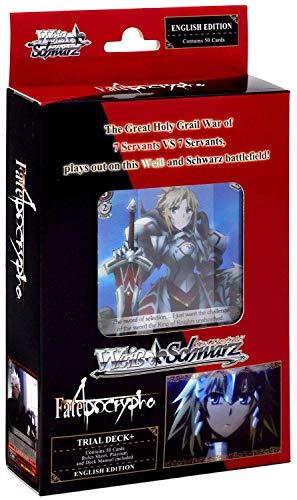 Weiss Schwarz Fate Apocrypha Trial Deck Plus