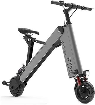 Bicicleta eléctrica - Plegable Ultra Ligera Mini Portátil E-Bike ...