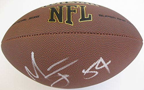 Melvin Ingram, Los Angeles Chargers, LA Chargers, Signed, Autographed, NFL Football, a COA with the Proof Photo of Melvin Signing Will Be Included