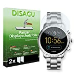 2 x DISAGU Armor screen protector for Fossil Q Explorist 3. Gen screen fracture protection film