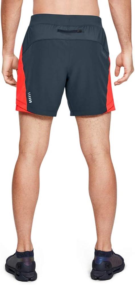 Hombre Qualifier Speedpocket 7 Pantalones Cortos Gris Under Armour UNDKU XXL