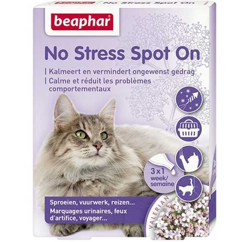 Beaphar No Stress - Chat - 3 pipettes