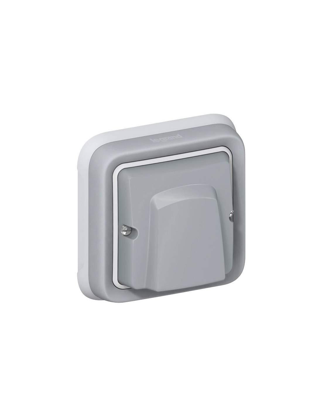 Legrand 6565140375 069580 adaptador mosaic ip55 gris plexo ii comp Ref