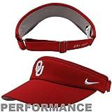 NCAA Oklahoma Sooners Sideline Dri-FIT Adjustable Performance Visor - Crimson
