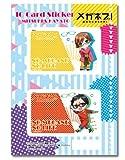 Meganebu!! IC Card Sticker Set B Kamatani Mitsuki-Hayato Kimata