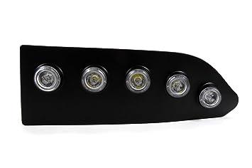 LED luz luces de circulación para Nisssan Qashqai 2010: Amazon.es: Coche y moto