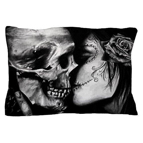 CafePress - Goth Halloween - Standard Size Pillow Case, 20
