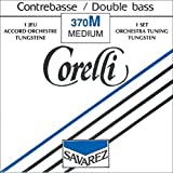 Corelli Strings For Double Bass Orchestra tuning 4/4 and 3/4 Size.;E Tungsten; Medium