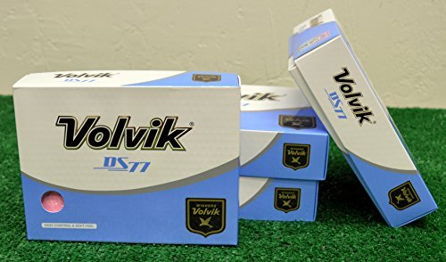 4 Dozen Volvik DS77 Pink Golf Balls - New in the Box by Volvik