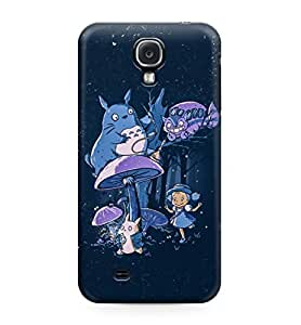 My Neighbor Totoro All Characters Hard Plastic Snap-On Case Cover For Samsung Galaxy S4