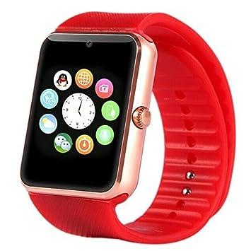 Hightech GT08 Pulsera inteligente Bluetooth inteligente reloj regalo de la manerapara Reloj para Teléfono: Amazon.es: Electrónica