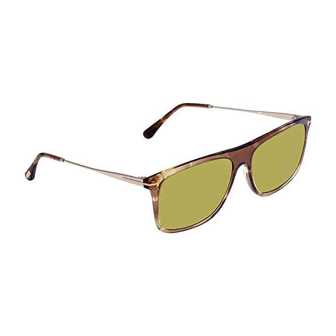 40d6b8234595e Image Unavailable. Image not available for. Colour  Tom Ford Men s  Sonnenbrille FT0588 47N 57 Sunglasses Brown) ...