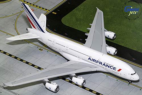GEMINI G2AFR781 Gemini200 Air France A380 F-Hpjb 1: 200 Scale Diecast Model Airplane, White