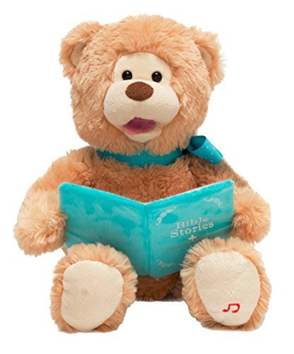 Bible Story Time by Cuddle Barn SG/_B01M6CY6LB/_US Cuddle Barn Animated Plush Bear Pray With Me Pals