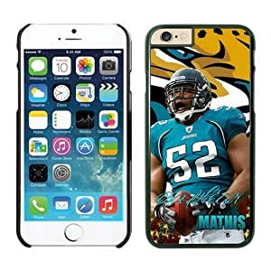 Jacksonville Jaguars dashean Mathis Case Cover For Apple Iphone 5/5S NFL Cases Black NIC12890