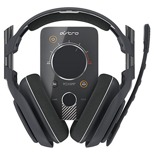 ASTRO Gaming A40 and MixAmp Pro PS4 - Dark Grey [2014 model] (Certified Refurbished)