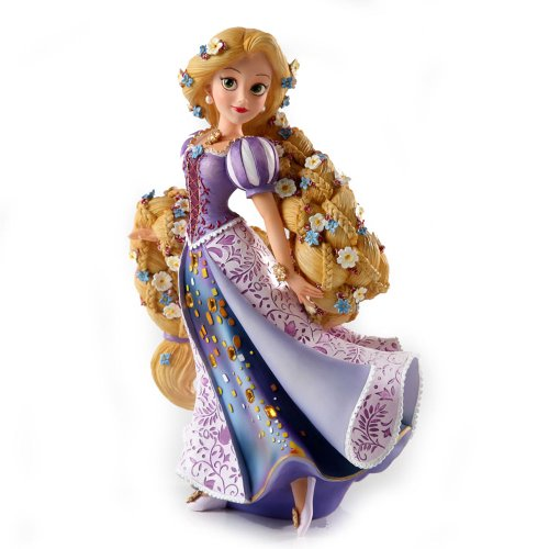 Collectible Resin Figure - Enesco Disney Showcase Rapunzel Couture de Force Princess Stone Resin Figurine