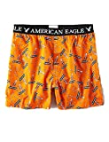 American Eagle Outfitters AEO Men's Halloween Scared Stiff Boxer Shorts XX-Large Orange