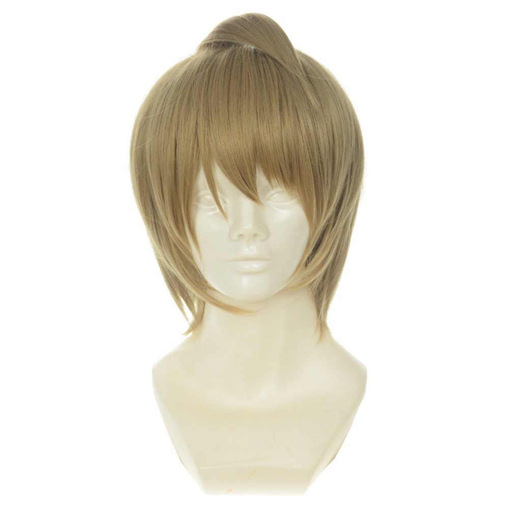 YSZYZX Unisex Cosplay Japanese Anime Love Sex Reversal Chemical Fiber Hairpiece Wig #348,One Size,348O