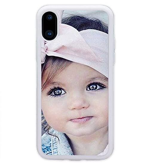 buy popular 80271 3ac08 iPhone XS Max Case, iPhone 10S Max Case, ArtsyCase Custom Personalized  Picture Photo Phone Case for iPhone XS Max and iPhone 10S Max (White)