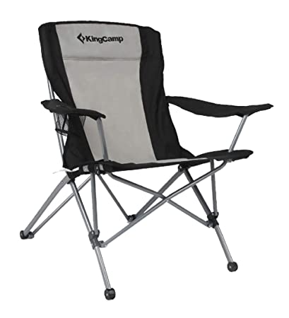 Merveilleux KingCamp Heavy Duty Folding Arm Chair With Comfotable Tilted Back