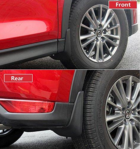 FOORDAY Car Mud Flaps Mudguard Professional Splash Guards Mud Flaps Front Rear Car Fender for 15-17 Mazda CX-5