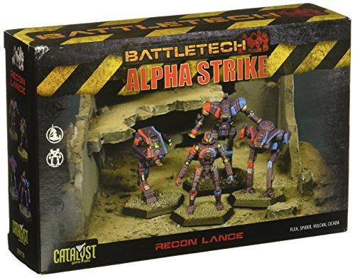 Battletech Alpha Strike Recon Lance (2014)