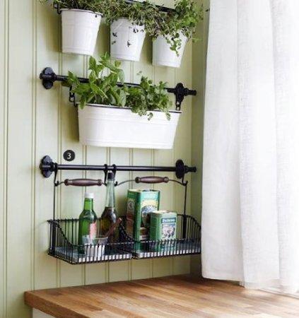 IKEA Acero Condimentos Organizador de Almacenamiento de soporte para especias de cocina Cubiertos/maceta junto con 31