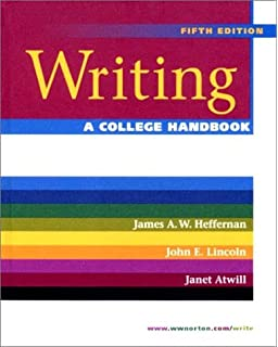 com write for college a student handbook  writing a college handbook fifth edition