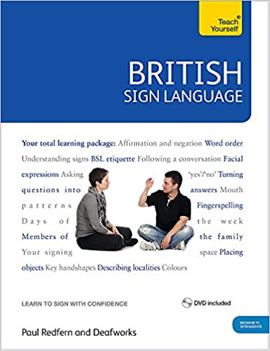British sign language teach yourself book and dvd pack amazon british sign language teach yourself book and dvd pack amazon paul redfern books fandeluxe Choice Image