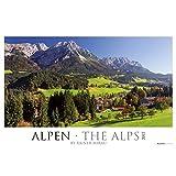 Alpen 2017 - The Alps - Bildkalender XXL (68 x 46) - Landschaftskalender - Naturkalender - by Rainer Mirau