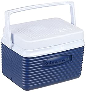 Rubbermaid Cooler / Ice Chest, 5-quart, Blue