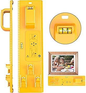 Frame Hanger Picture Easy Wall Hanging Tool Hanging Level Ruler Photo Home Decor