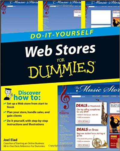 Web stores do it yourself for dummies joel elad 9780470174432 web stores do it yourself for dummies 1st edition solutioingenieria Image collections