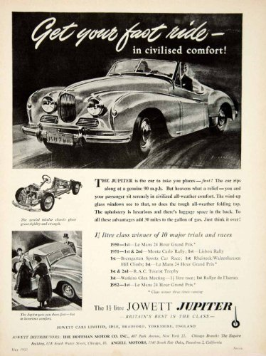 Review 1953 Ad Vickers Art
