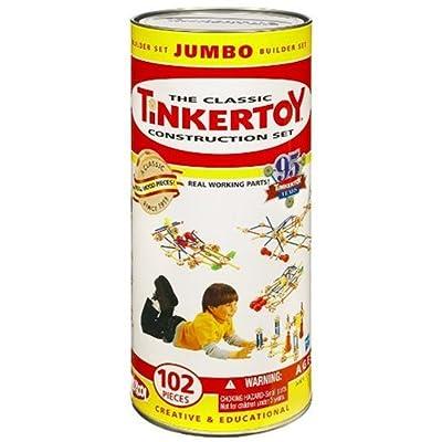 Hasbro Tinkertoy Classic Jumbo Set: Toys & Games