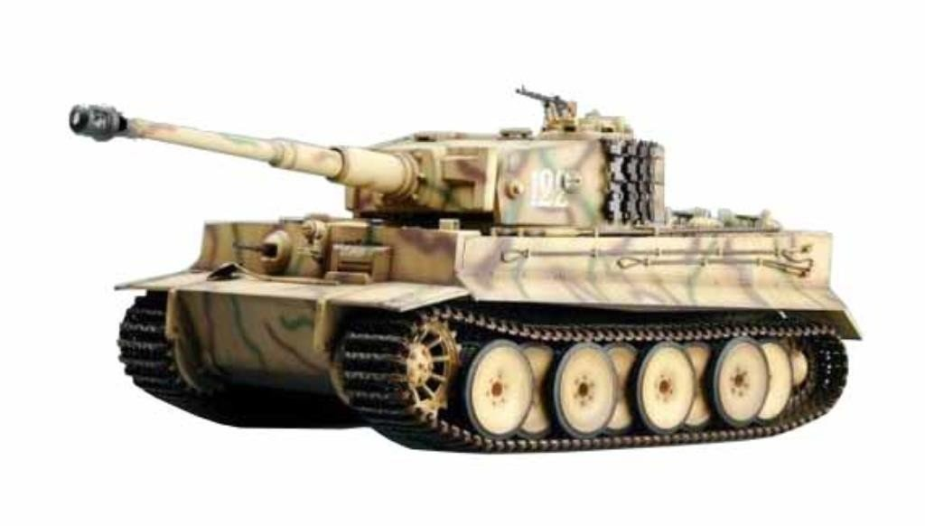 2.4Ghz 1/16 Scale Radio Remote Control German Tiger 1 RC Infrared Battle Tank With Infrared Battle System and Sound R/C Tank by WSN/Tumpeter Trumpeter